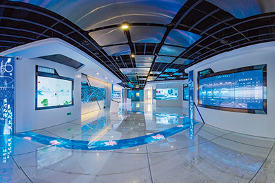 中国智慧管理典范城市云数据流中心