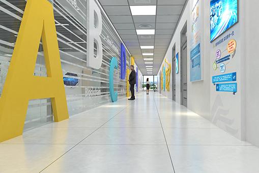 山东商业职业学院师训楼空间设计