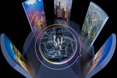 日照城市大脑智慧城市展馆