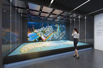 """高新东区商业发展中心""""智享未来城""""城市馆"""